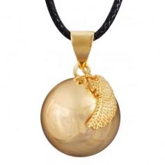 Collier bola de grossesse boule avec aile d'ange